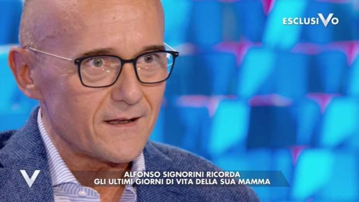 Alfonso Signorini retroscena mamma