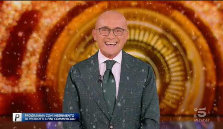 GF Vip annuncio sorpresa Signorini
