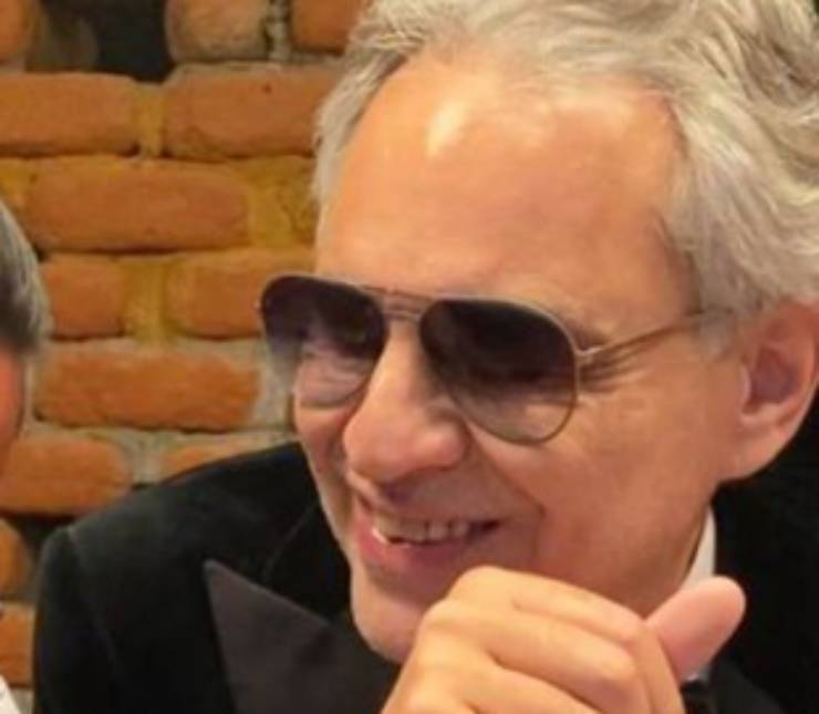 Andrea Bocelli retroscena