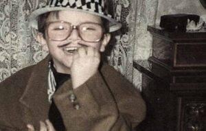 Bambino foto cantautore