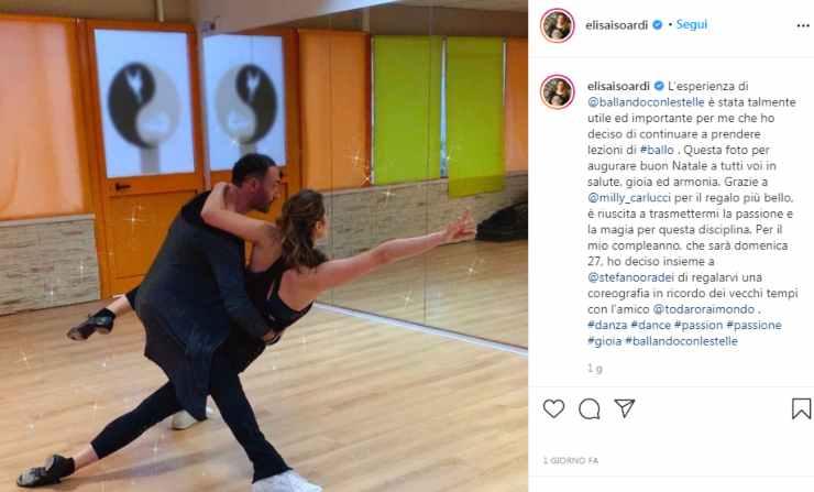 Elisa Isoardi dopo Ballando