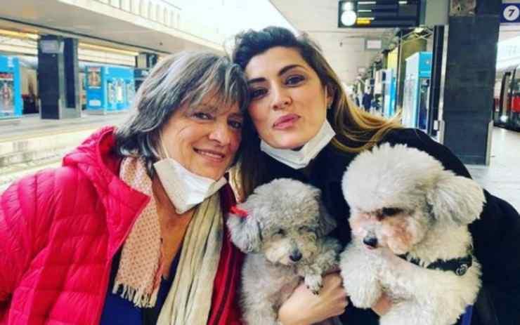 Elisa Isoardi infortunio mamma