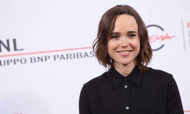 """l'amatissima star Ellen Page confessa: """"Sono transessuale, il mio nome è Elliot"""""""