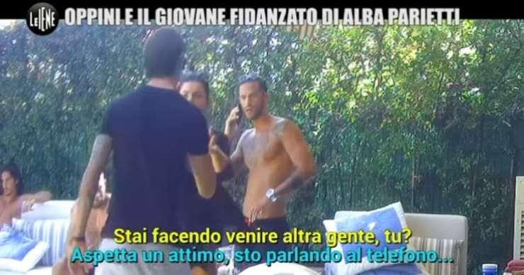 """Francesco Oppini furioso: """"E' una testa di c***"""", lo scherzo de Le Iene causa la reazione choc (fonte screenshoot video instagram)"""