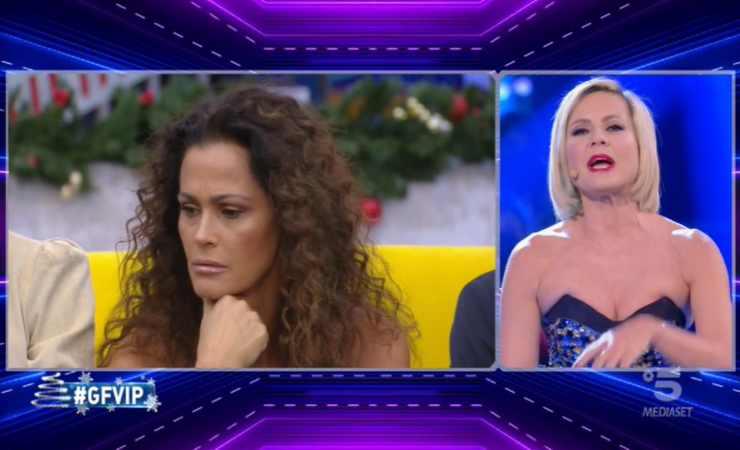 GF Vip Antonella Elia e Samantha De Grenet