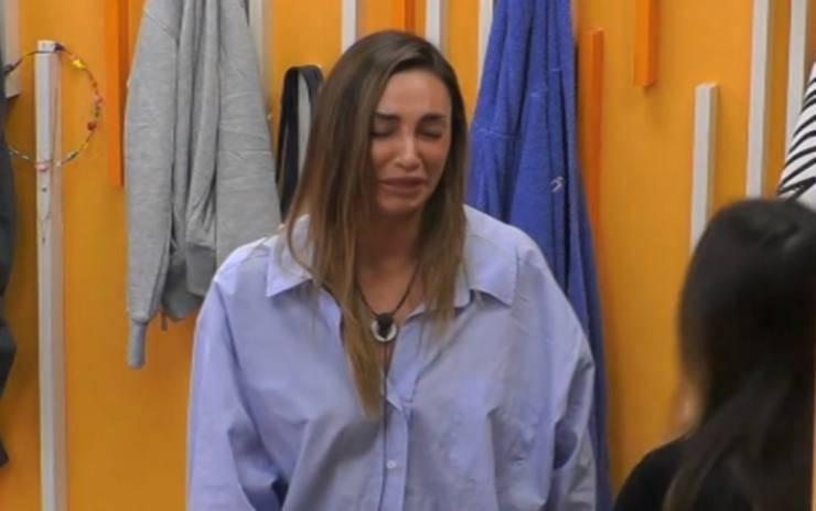Sonia Lorenzini lacrime