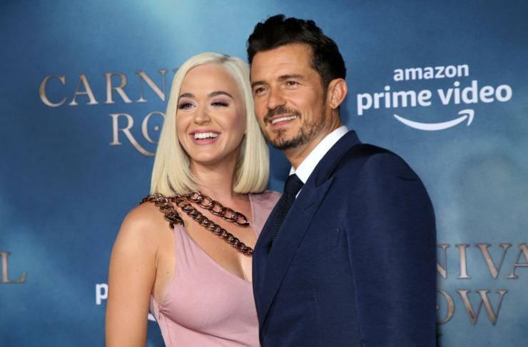 Katy Perry ed Orlando Bloom, insieme in un bellissimo scatto
