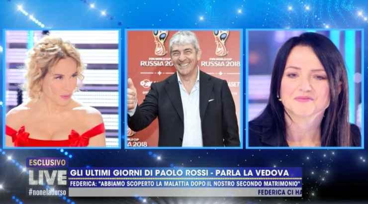 Live moglie Paolo Rossi