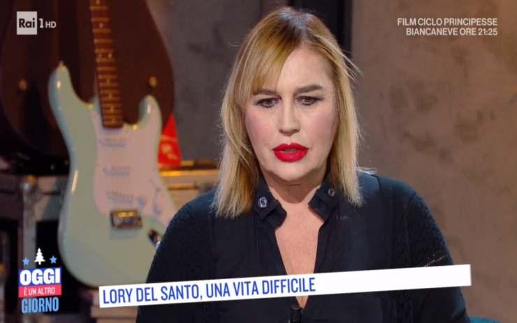 Lory Del Santo retroscena