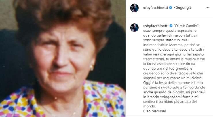 """Roby Facchinetti: """"Sono sempre stato tuo"""", un ricordo straziante e commovente"""
