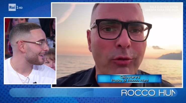 Rocco Hunt famiglia
