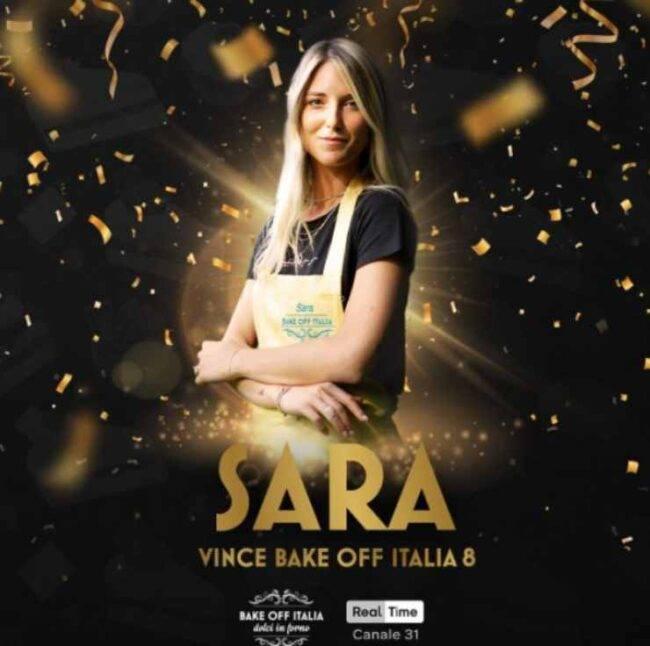Sara vince Bake Off Italia 2020