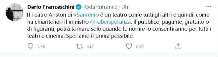 Amadeus Fiorello Sanremo