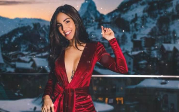 Giulia De Lellis a St.Moritz