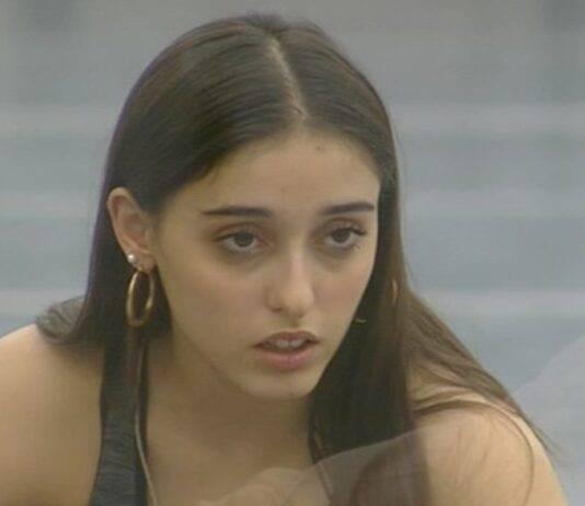 Amici 2020, Giulia lacrime