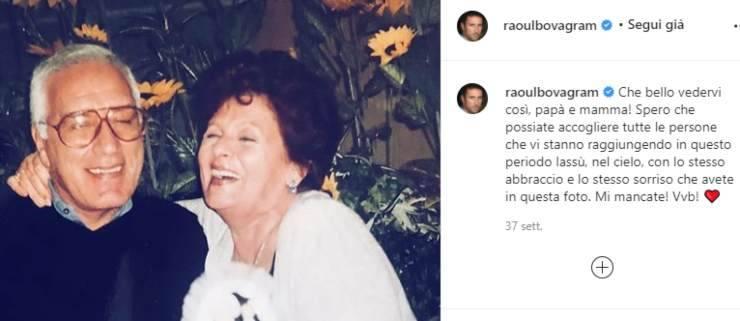 """Raoul Bova, i lutti che l'hanno addolorato: """"Mi mancate"""", una perdita straziante per l'amatissimo attore"""