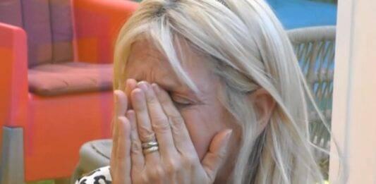 GF VIP, altra crisi per Maria Teresa Ruta: la concorrente si sfoga in lacrime