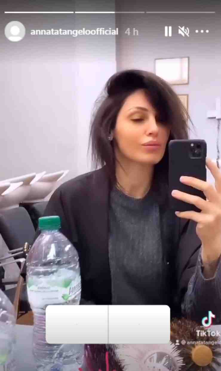 Anna Tatangelo look capelli