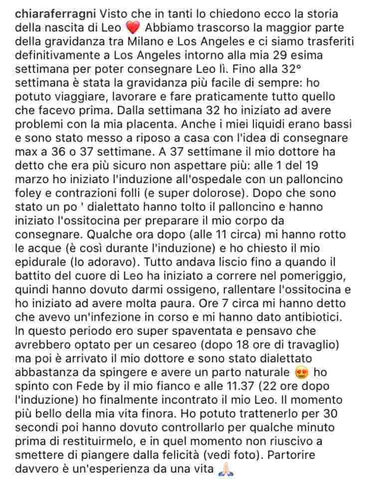 Chiara Ferragni gravidanza
