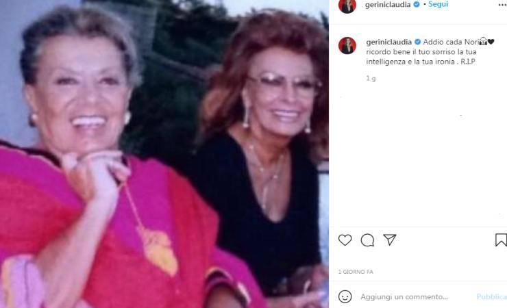 Claudia Gerini perdita