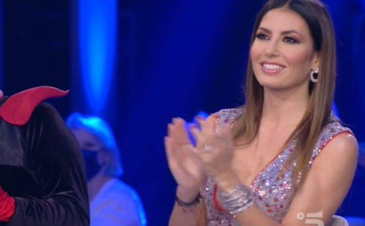 Elisabetta Gregoraci look semifinale