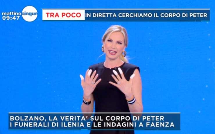 Federica Panicucci incidente