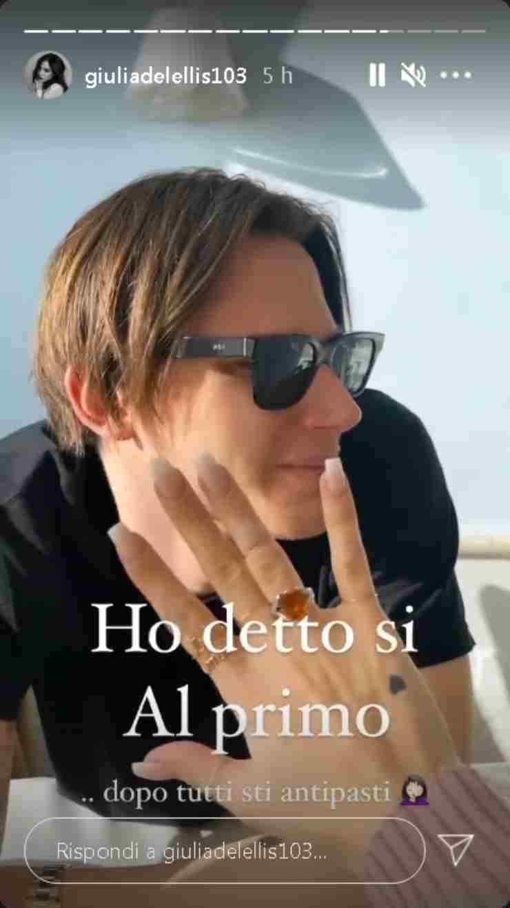 Giulia De Lellis proposta