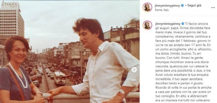 """Jane Alexander con un post su instagram esprime il dolore per la prematura scomparsa: """"Mi manca averti vicino"""""""