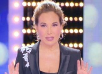 Barbara D'Urso lutto live