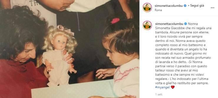 """Simonetta Columbu ha manifestato su instagram il dolore per la difficile perdita: """"Gliel'ho restituito per sempre"""", un post commovente"""