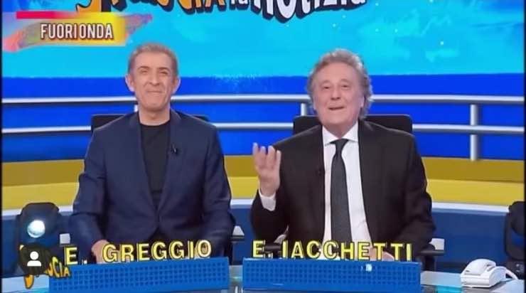 Ezio Greggio e Enzo Iacchetti