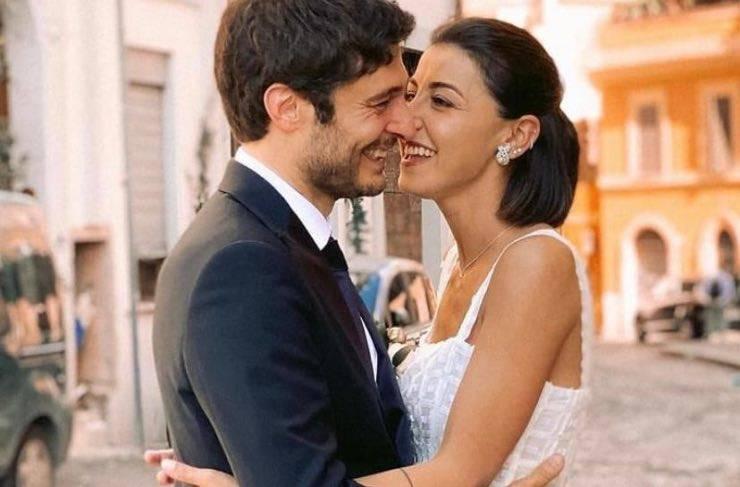 matrimonio Lino Guanciale e Antonella Liuzzi