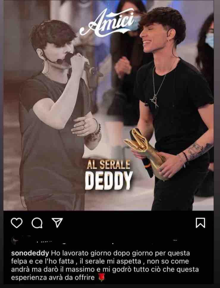 Amici 20 Chi è Deddy