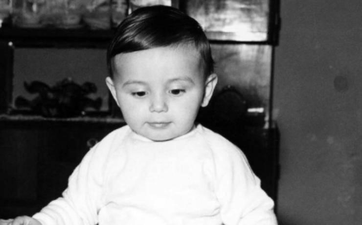 Luciano Ligabue da piccolissimo