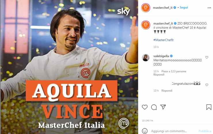 Masterchef 10 Francesco Aquila