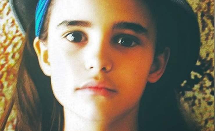 bambina attrice talento