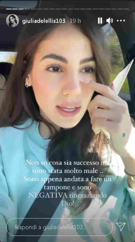 Giulia De Lellis negativa