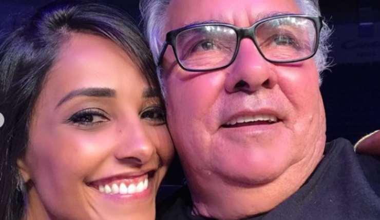 Juliana Moreira papà
