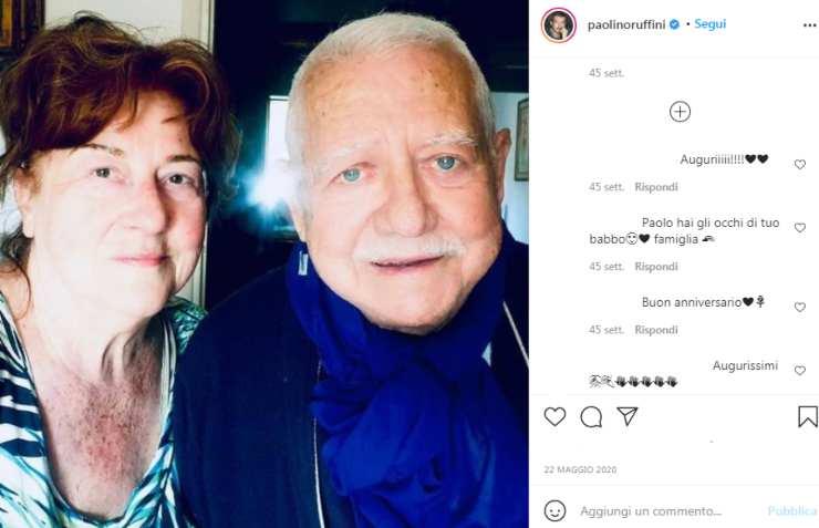 Paolo Ruffini genitori