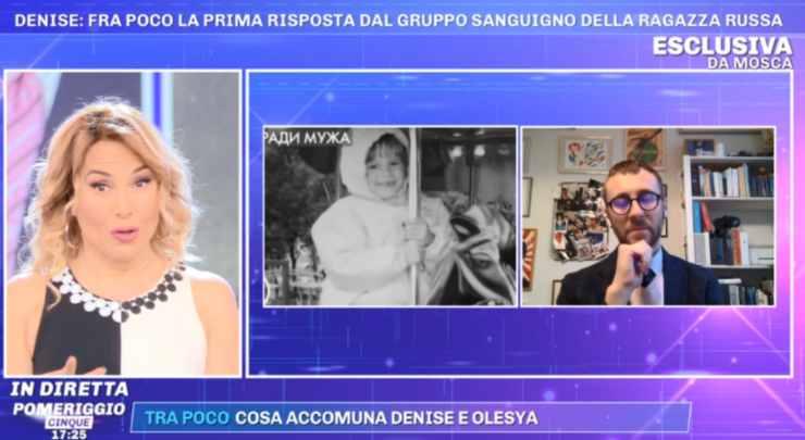 Pomeriggio Cinque Denise Pipitone