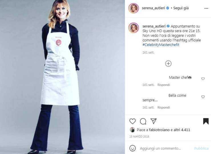 Serena Autieri talent