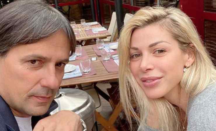 Simone Inzaghi moglie