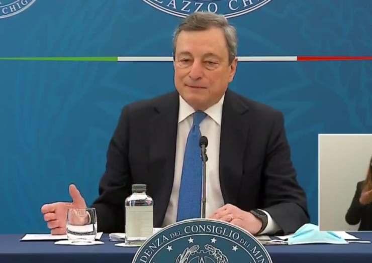 Parla Draghi: riaperture, colori delle regioni e nuovi provvedimenti. Tutte le dichiarazioni