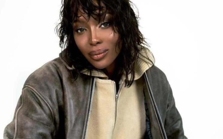 naomi campbell lutto