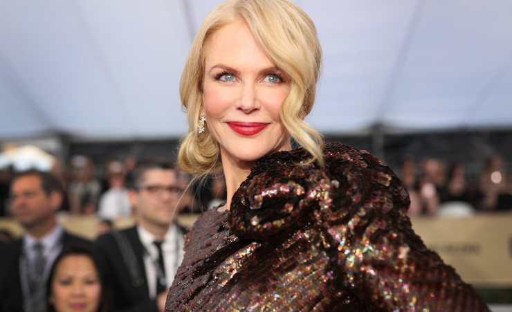 Nicole Kidman bambina
