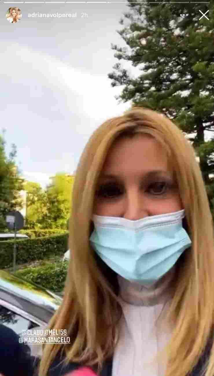 Adriana Volpe dal dottore