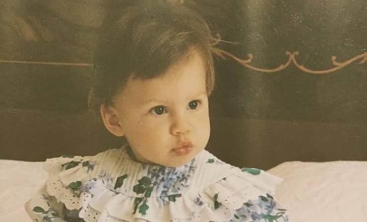 Beatrice Arnera da piccola