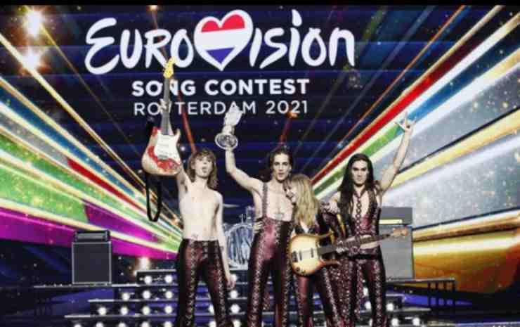 Eurovision 2021 Maneskin