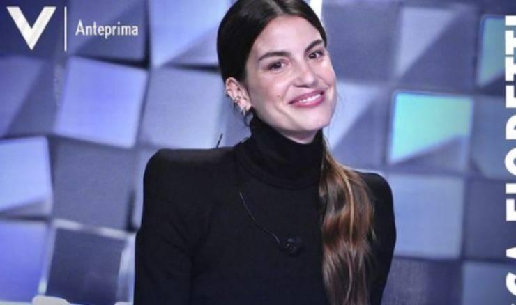 Francesca fioretti Verissimo