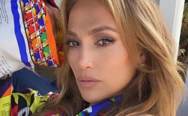 Jennifer Lopez bambina